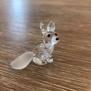 Swarovski miniature fox
